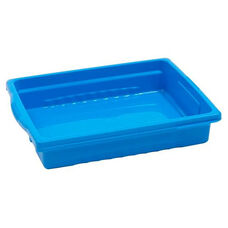 Royal Stubby Tubby Shallow Storage Tub in Blue - 12