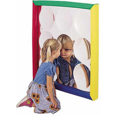 Soft Frame Wall Hung Concave Bubble Mirror - 34