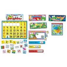 Carson-Dellosa Publishing Frog Calendar Set - 148 Pieces - 24
