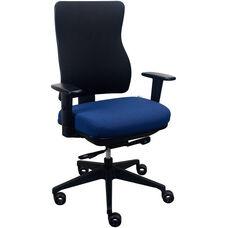 Tempur-Pedic® Spring Task Chair with Fabric Back - Night Sea