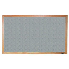 700 Series Tackboard with Wood Frame - Claridge Cork - 72