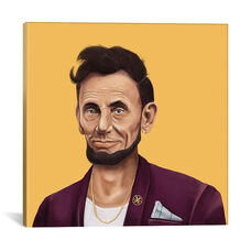 Abraham Lincoln by Amit Shimoni Gallery Wrapped Canvas Artwork - 37