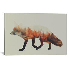 Fox I by Andreas Lie Gallery Wrapped Canvas Artwork