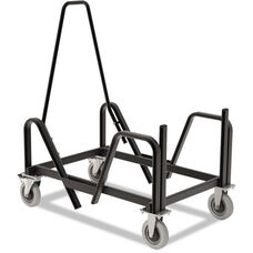 HON® Motivate Seating Cart for High-Density Stacking Chairs - Black