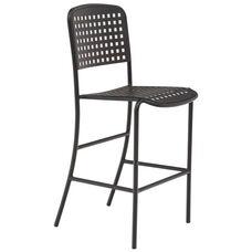 Hanna Aluminum Armless Barstool
