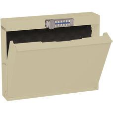 LapTop Locker with Digital Lock - Bone White