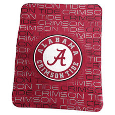 University of Alabama Team Logo Classic Fleece Throw