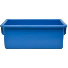 Plastic Injection Molded Cubbie Tray - Set of 5 - Blue - 8.63