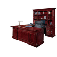 Keswick Right Executive U Desk - English Cherry