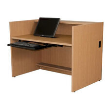 Circulation Desk Shell with Laminate Top - 36