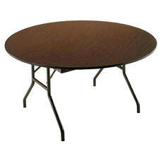 Customizable Economy 130 Series Round Fixed Height Table - 60''Dia. x 29''H
