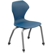 Apex Series Plastic Stack Chair with 14