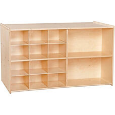 Contender Double Sided Mobile Storage - Unassembled - 46.75