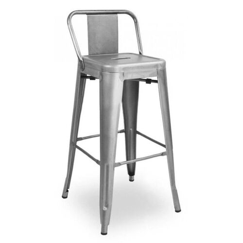 Our Dreux Gunmetal Low Back Steel Counter Stool - Set of 4 is on sale now.