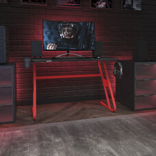 Red Engineered Wood: Medium Density Fiberboard