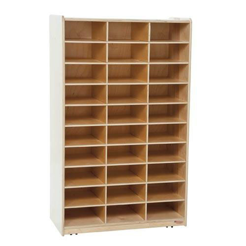 Our Heavy Duty Mailbox Storage and Distribution Center with Thirty Storage Shelves - Assembled - 30