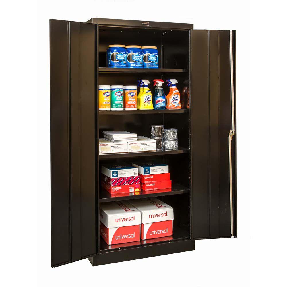 Custom Double Door Storage Cabinet Style