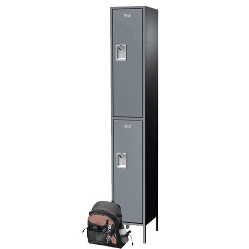 Our Traditional Plus Series Double Tier Powder Coated Steel Starter Locker with Recessed Handle is on sale now.