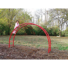 Half Moon Climber with Galvanized Steel Posts and Powder Coat Paint Finish - 24