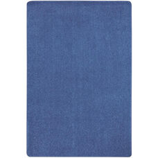Kid Essentials Just Kidding Polyester Rug with Actionbac Backing - Cobalt Blue - 144''W x 72''D