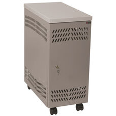 CPU Large Mobile Locker - Light Gray