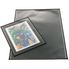 Polypropylene Archival Print Protector with Black Nylon Binding On All Sides 18