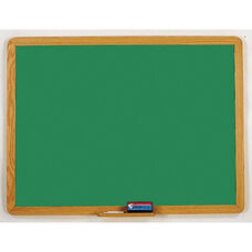 2900 Series Chalkboard with Wood Face Frame - 48