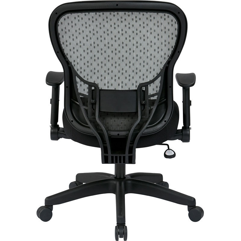 ... Our Space Deluxe R2 SpaceGrid Back Office Chair with Memory Foam Mesh Seat Chair is on ...  sc 1 st  SchoolFurniture4Less.com & Space Grid Black Office Chair 529-3R2N1F2 | SchoolFurniture4Less.com
