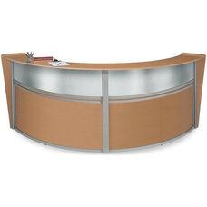 Marque Plexi Double Reception Station - Maple