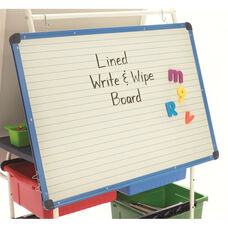 Magnetic Lined Dry Erase Board - 23.75''H x 31.25''W