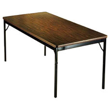 Customizable Classic Fixed Height Folding Training Table - 24''W x 72''D x 30''H