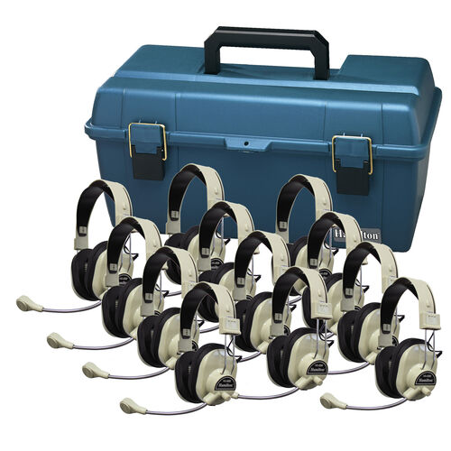 Our 12 HA-66M Deluxe Multimedia Headphones with Carrying Case is on sale now.