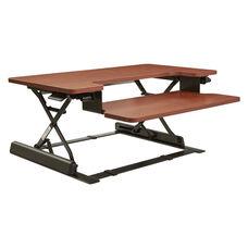 OSP Furniture Napa Desk Riser  - Cherry