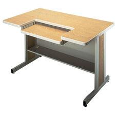 Customizable Series 5000 Double Bar Leg Workstation - 30