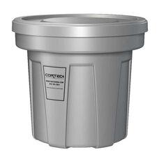 22 Gallon Cobra Flame Retardant Trash Can - Gray
