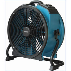 X-47ATR Professional Variable Speed Sealed Motor Industrial Axial Fan with Timer and Power Outlets