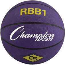 Pro Rubber Basketball Office Size 7 in Purple