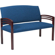 Quick Ship Trados Healthcare Two-Seater Settee