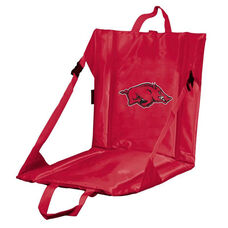University of Arkansas Team Logo Bi-Fold Stadium Seat