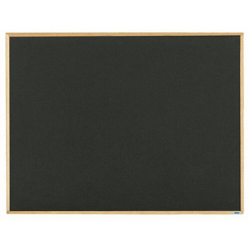 Economy Series Black Composition Chalkboard with Wood Frame - 36
