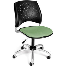 Stars Swivel Chair - Sage Green