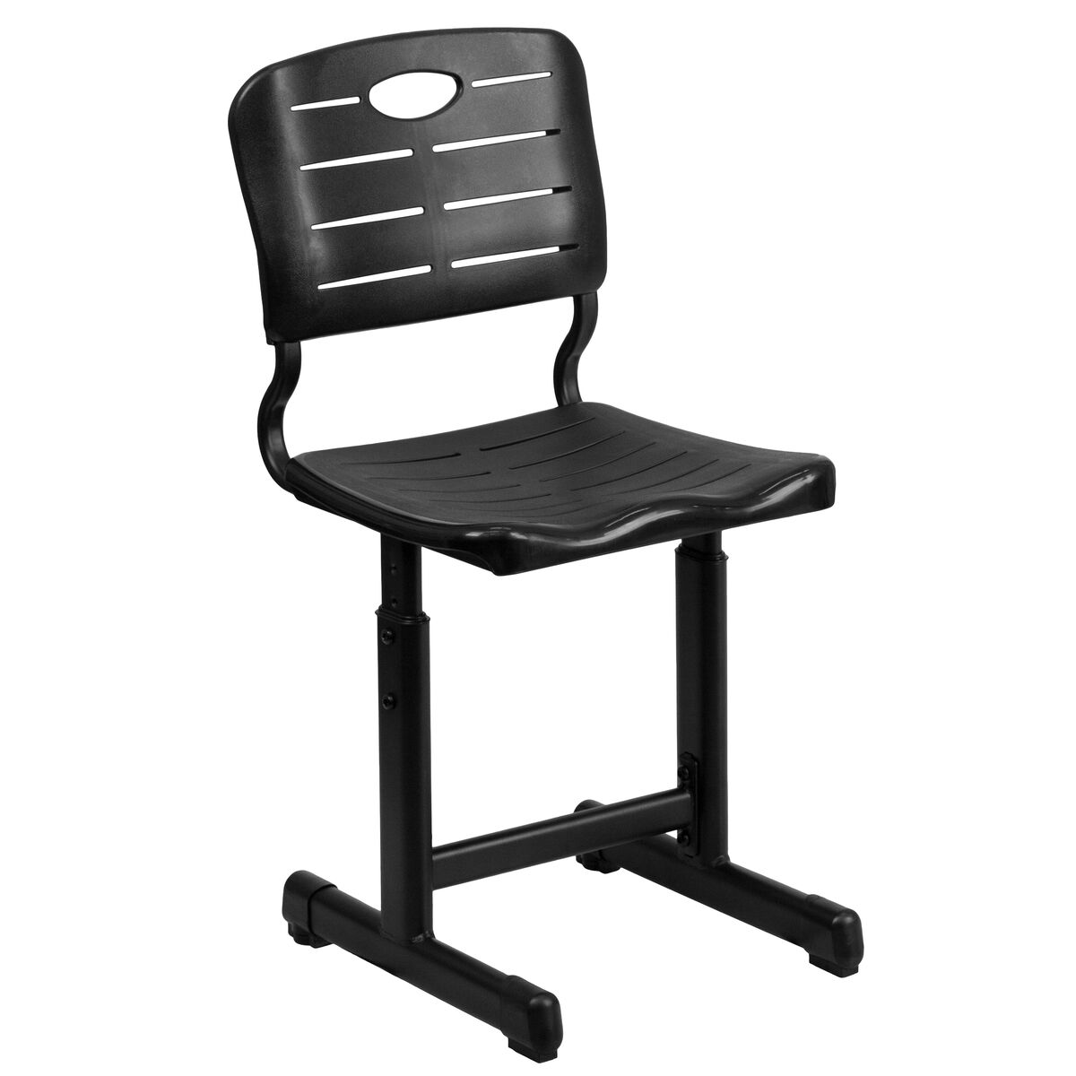 black plastic student chair yu ycx 09010 gg schoolfurniture4less com
