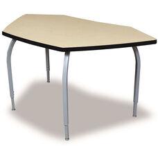 ELO Bridge High Pressure Laminate Table with Adjustable Legs and 1.25