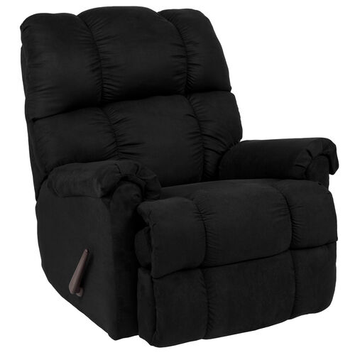 Our Riverstone Sierra Black Microfiber Rocker Recliner is on sale now.