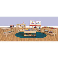 Creative Healthy Kids Plywood Play Package with Tuff-Gloss UV Finish - Set of 6