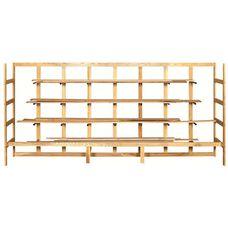 Solid Wood Lumber Rack