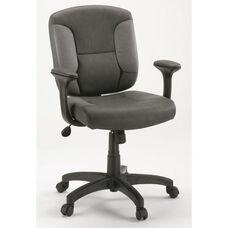 DuraPlush Faux Leather Task Chair - Gray