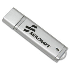 SKILCRAFT 4GB USB 2.0 Flash Drive - 4 GB - USB - External