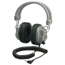 Schoolmate Deluxe Stereo/Mono Headphone with 1/8