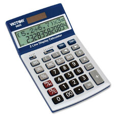 Victor Technology 9800 Easy Check Two-Line Calculator